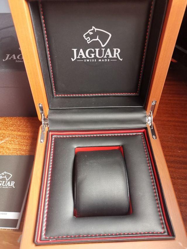 Caja Reloj Jaguar Grande