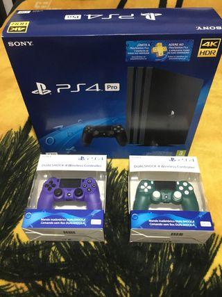 PS4 Pro 1TB Chasis B + Mandos