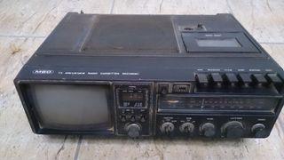 radio-televisor vintage