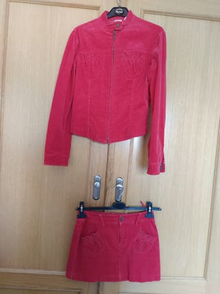 Conjunto chaqueta y falda Mango
