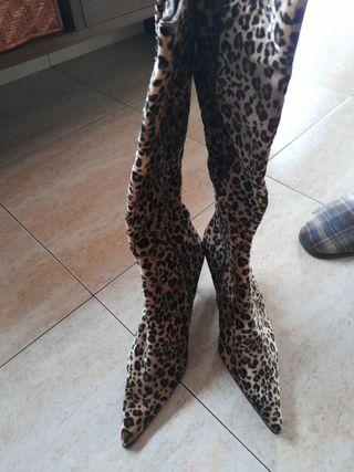botas altas num 39 tigre