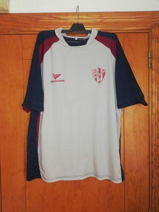 camiseta Fútbol, SD HUESCA, marca BEMISER