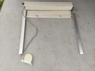 Persiana PVC enrollable 1 x 1