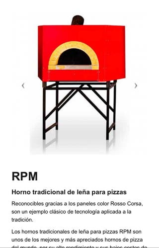 Horno tradicional de Leña y Gas pizzas 2da mano