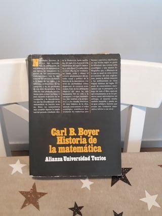 Libro Historia de la matemática Carl B. Boyer