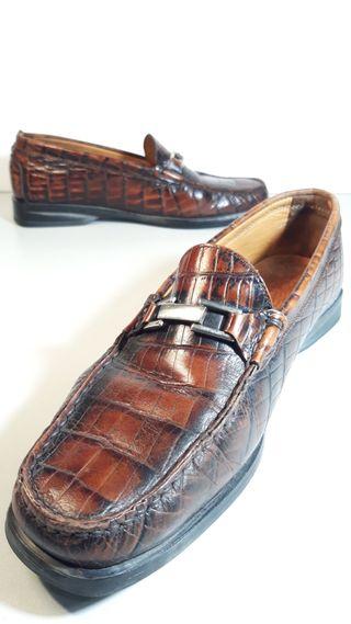 Zapatos TREMP cocodrilo