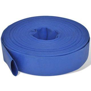 Manguera plana de agua 50 m 2' PVC