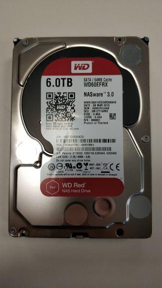 Disco duro 6 TB WD RED