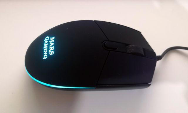 Ratón Gaming RGB con DPI programable