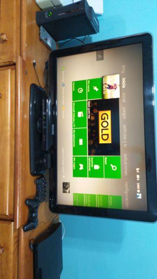 Xbox 360+cámara+juego