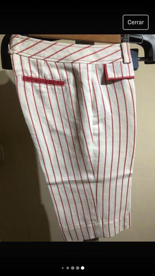 Pantalón bermudas mujer
