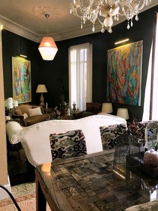 Muebles y lámparas de estilo vintage