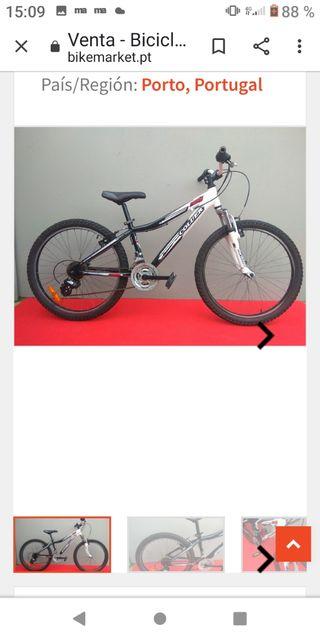 bicicleta de montaña COLUER 24 pulgadas se envia