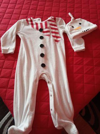 Pijama enterizo bebé