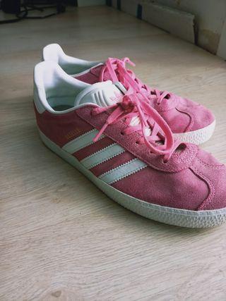 Zapatillas mujer Adidas rosa