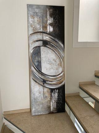 Cuadro abstracto relieve