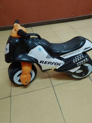 LO REGALO!Correpasillos Moto Neox Respsol Injusa