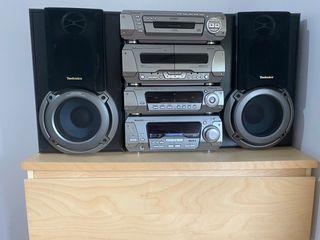Equipo de música Technics