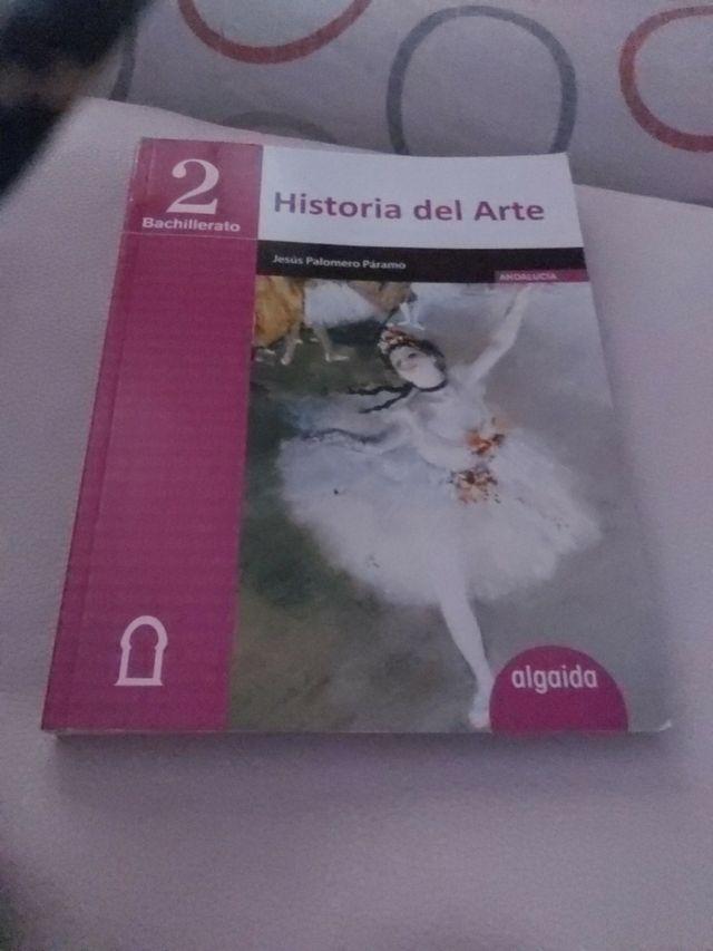 libro historia del Arte. 2 Bachillerato