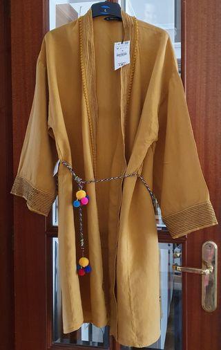Kimono mostaza