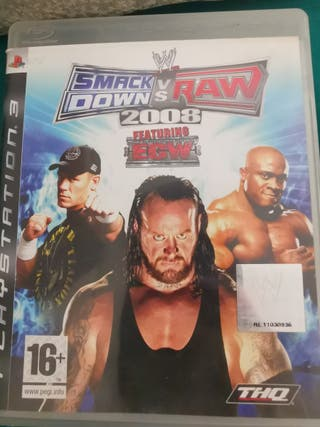 smack down VS raw 2008 ps3