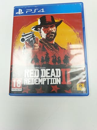 RED DEAD REDEMPTION II. PS4