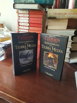 guía completa de Tierra media biblioteca Tolkien