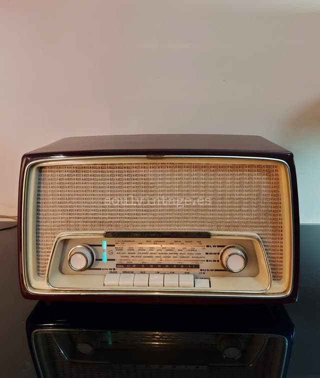 Radio Grundig, año 1960