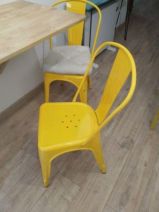 2 sillas Tolix