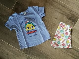 Pijama verano talla 36 meses
