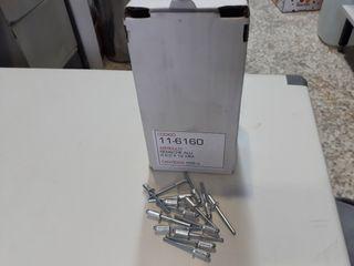 Remaches Aluminio 6,0 x 12mm 250 u.