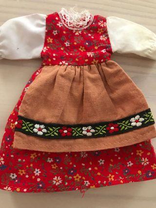 Antiguo vestido muñeca no nancy no lesly