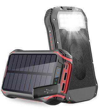 Batería solar 26800 linterna inalambrica nueva