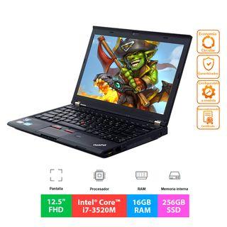 """Lenovo ThinkPad X230 - i7 - 16GB - 256GB - 12.5"""""""