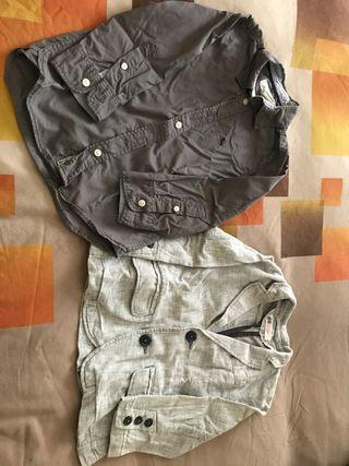 Conjunto camisa i americana