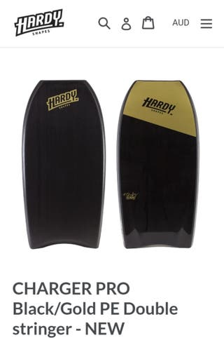 HARDY SHAPES CHARGER PRO SERIES 41,5 Bodyboard QCD