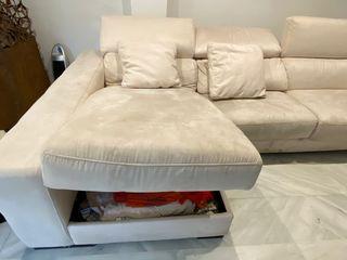 Chaise longue con canapé