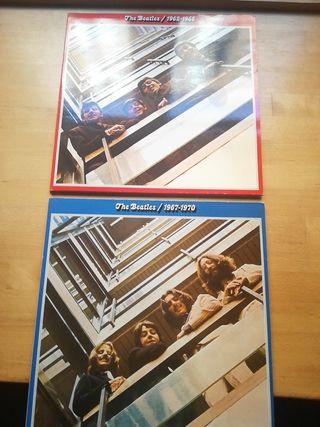 Vinilode The Beatles Rojo.