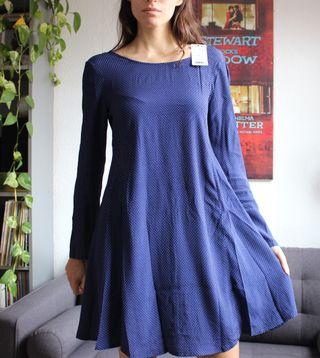 Vestido Mango Azul