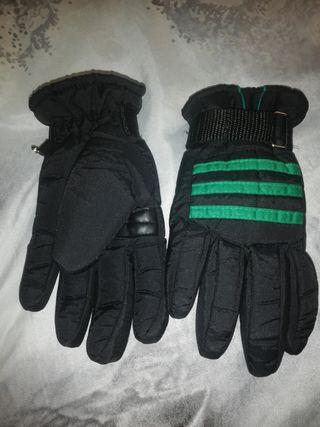 guantes invierno nieve y moto