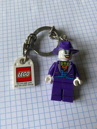 Llavero de lego el joker