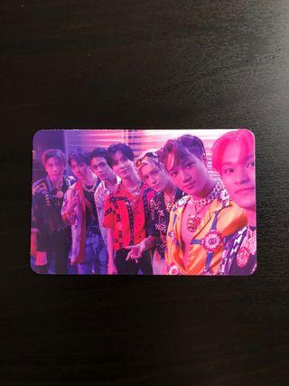 Photocard SuperM (álbum SuperOne)