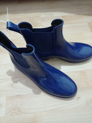 botines de agua