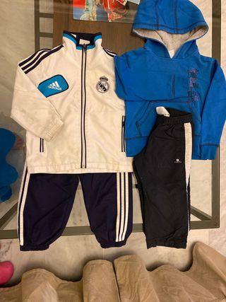 Conjunto chándal Adidas Real Madrid &