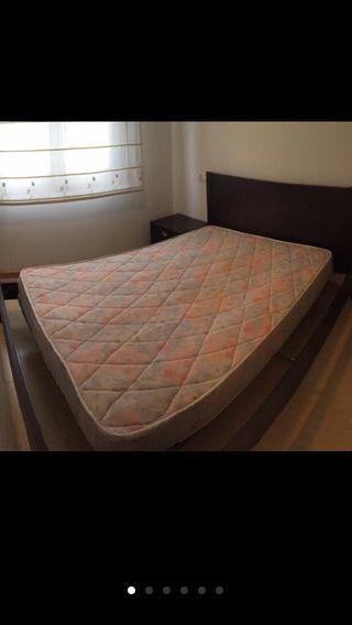 Colchón + somier 1,35 cm x 1,80 cm