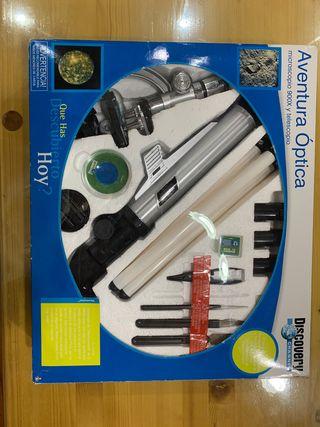 Microscopio + telescopio