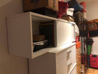 Ikea archivador con puertas correderas