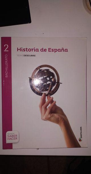 Libro Historia de España 2° Bachillerato