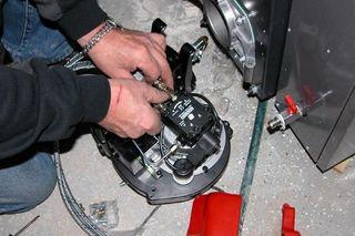 Reparación quemador caldera gasoil. Revisión!