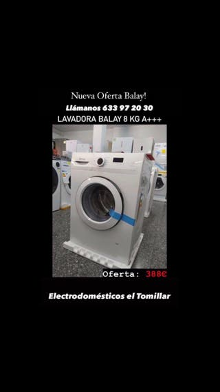 Lavadora Balay 8 Kg A+++